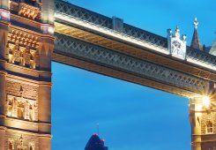 Non woven fototapet Tower bridge i London