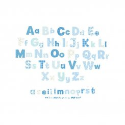 Blue Collection - Alphabet