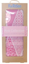Pink Collection - Rosa vimplar