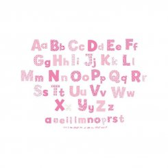 Pink Collection - Alphabet