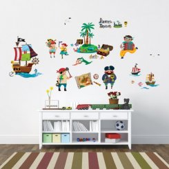 Wall sticker pirates