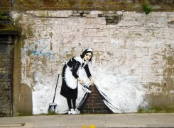 Banksy Sweep it...