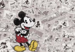 Disney Mickey Retro Comic