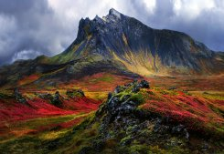 Mountain In Iceland