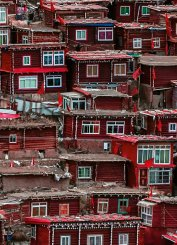 Red Houses China