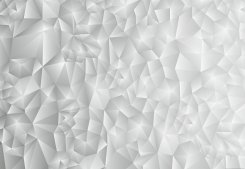 3D Triangles White