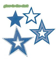 Wallies - Glow-in-the-dark Stars