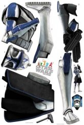 Star Wars - Captain Rex (150 cm)