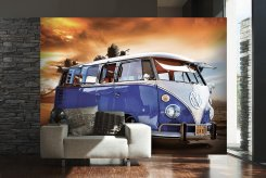 VW Camper (Blue)