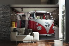 VW Camper (Red)