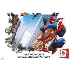Walltastic 3D pop out Spider man