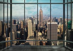 Fototapet (360x253 cm) New York Skyline