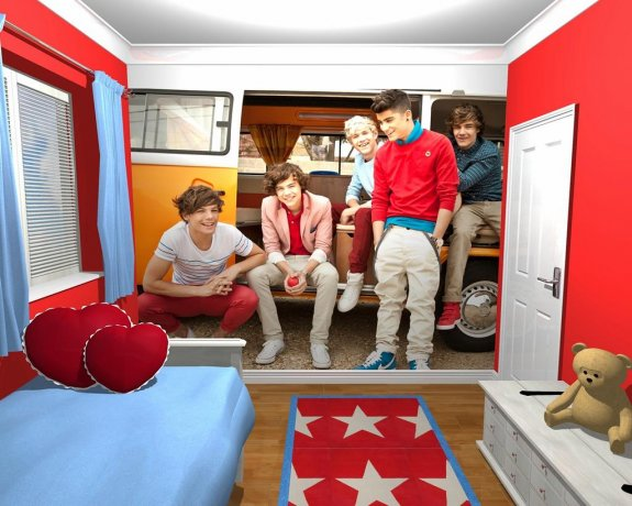 One Direction Camper