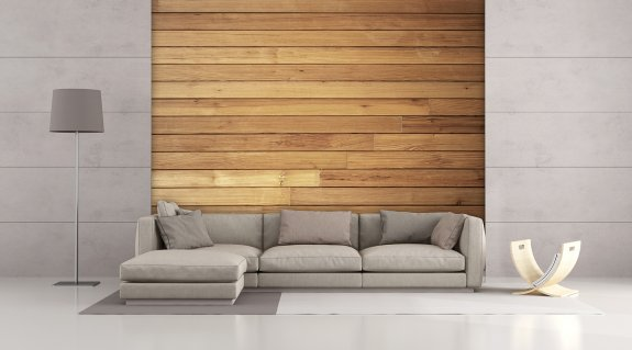 Cozy Wooden Wall