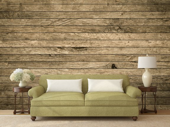 Vintage Aged Wooden Wall