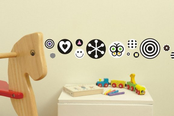 Väggdekor Grå : Väggdekor för barn och ungdom stort sortiment billig