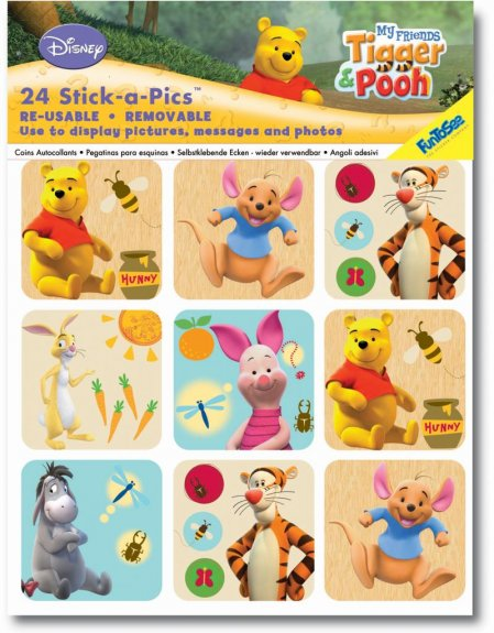 Stick-a-picks Nalle Puh