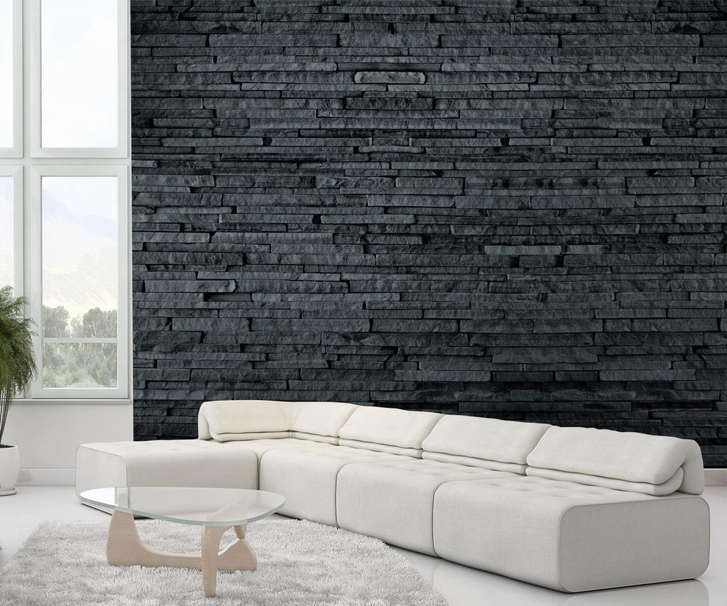 svart skiffer fototapeter tapeter. Black Bedroom Furniture Sets. Home Design Ideas