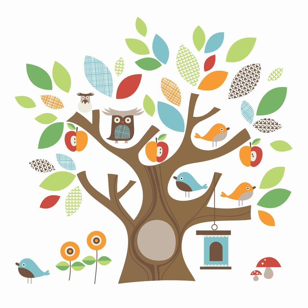 Skip Hop - Två(!) träd med djur