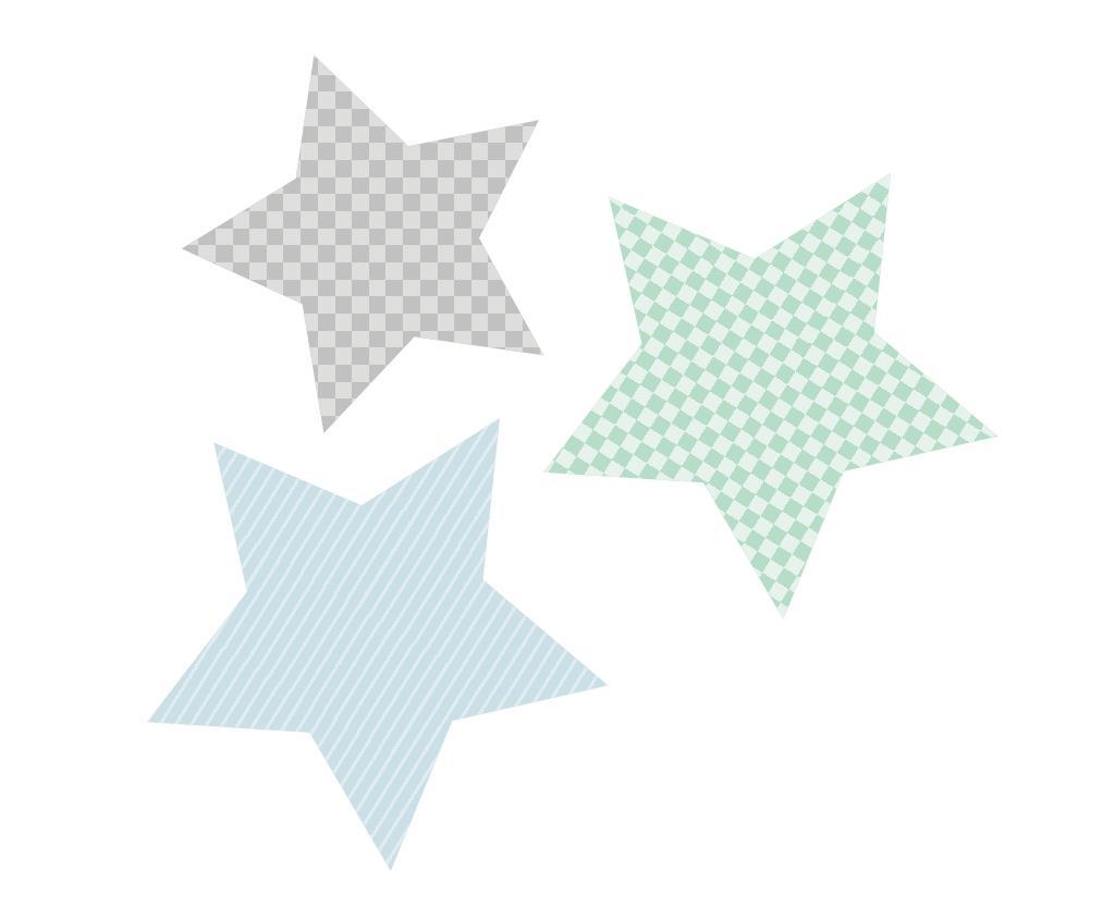 Mönstrade stjärnor   lek & bus   unikdekor.se