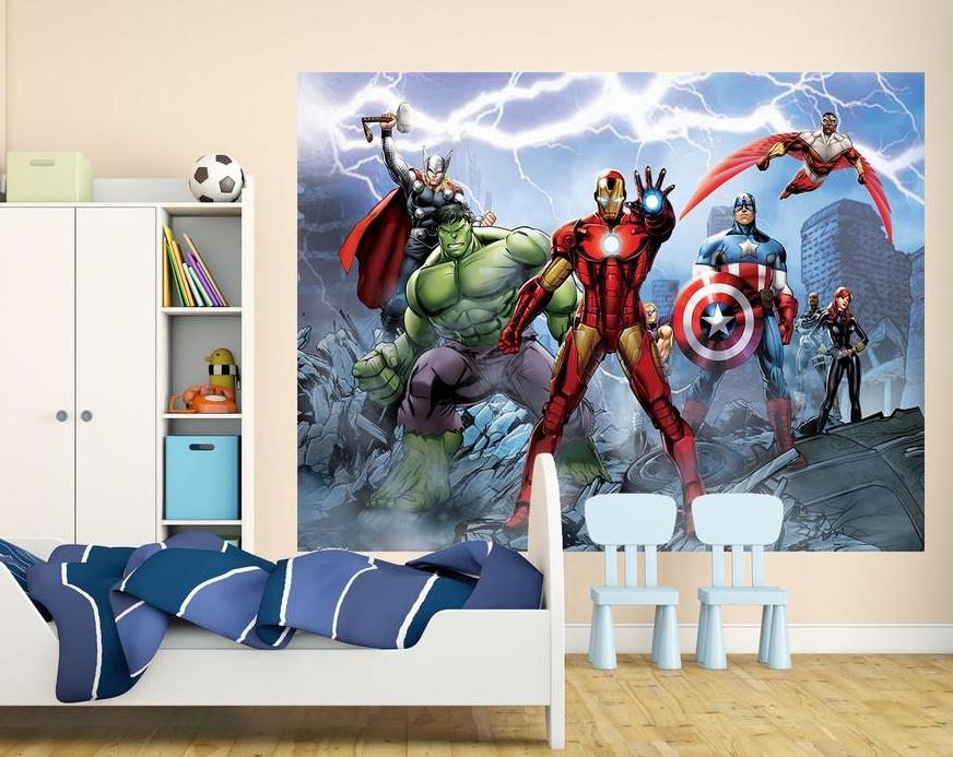 Väggdekor Marvel : Om fototapeter
